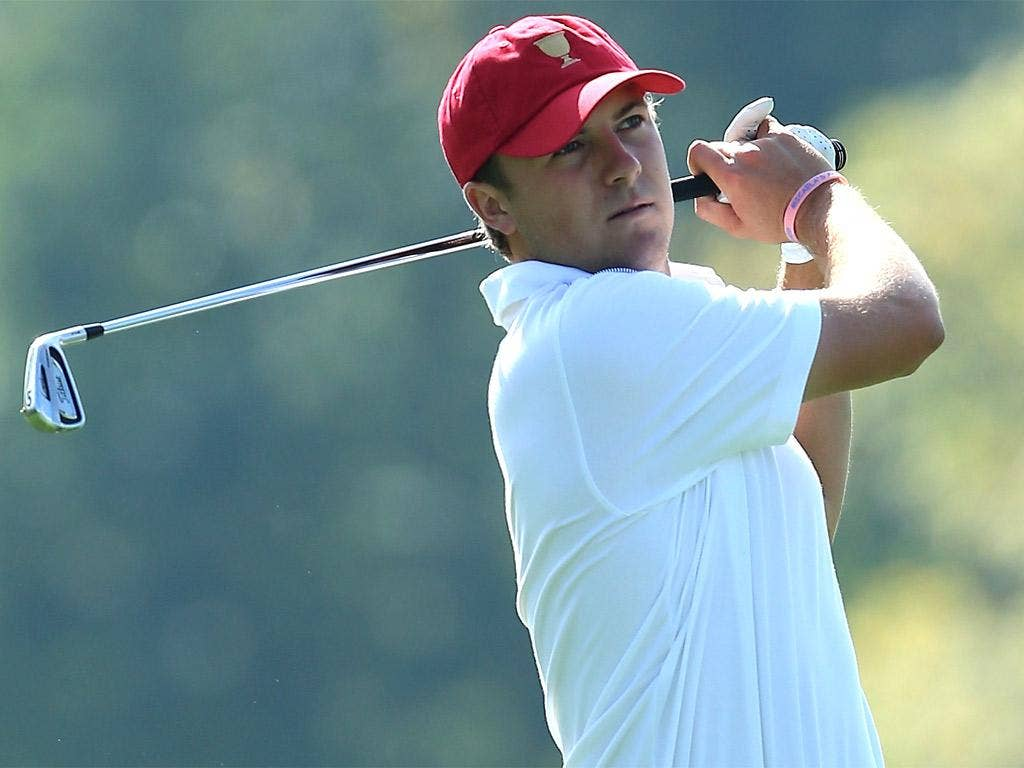 Jordan Spieth pipped Jim Furyk to the US Presidents Cup team