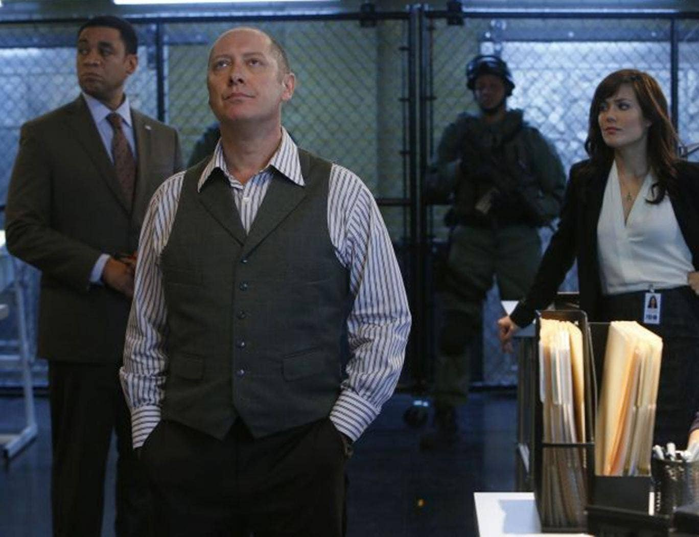 More glossy than gritty: James Spader and co in The Blacklist