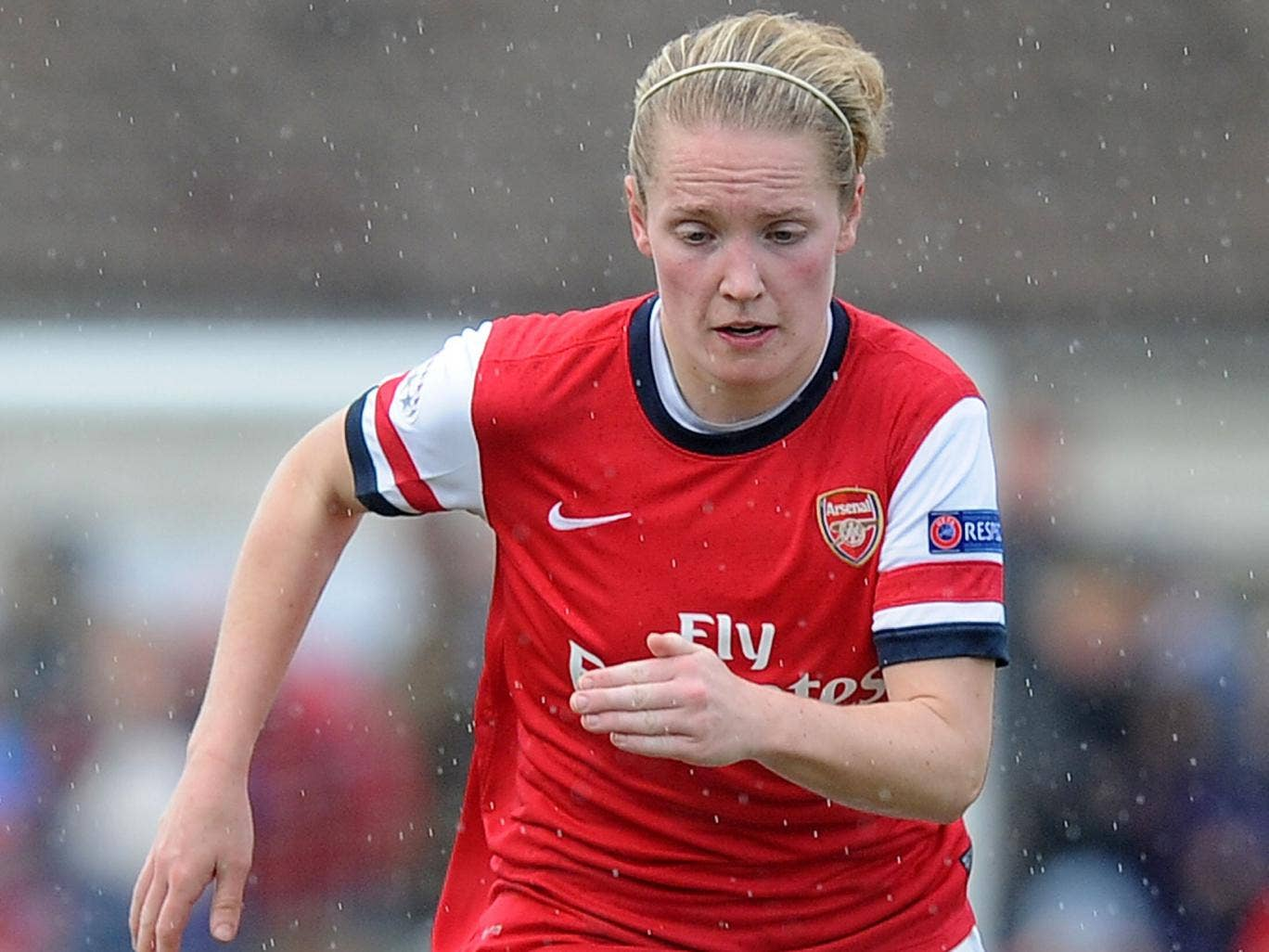 Kim Little was the PFA'S first Women's Player of the Year