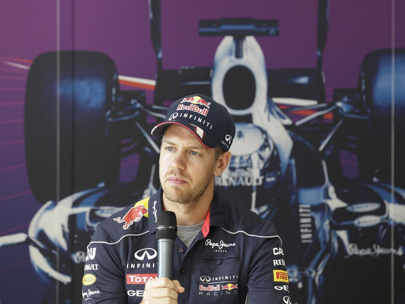 Sebastian Vettel spoke of his 'pride' in the Red Bull car