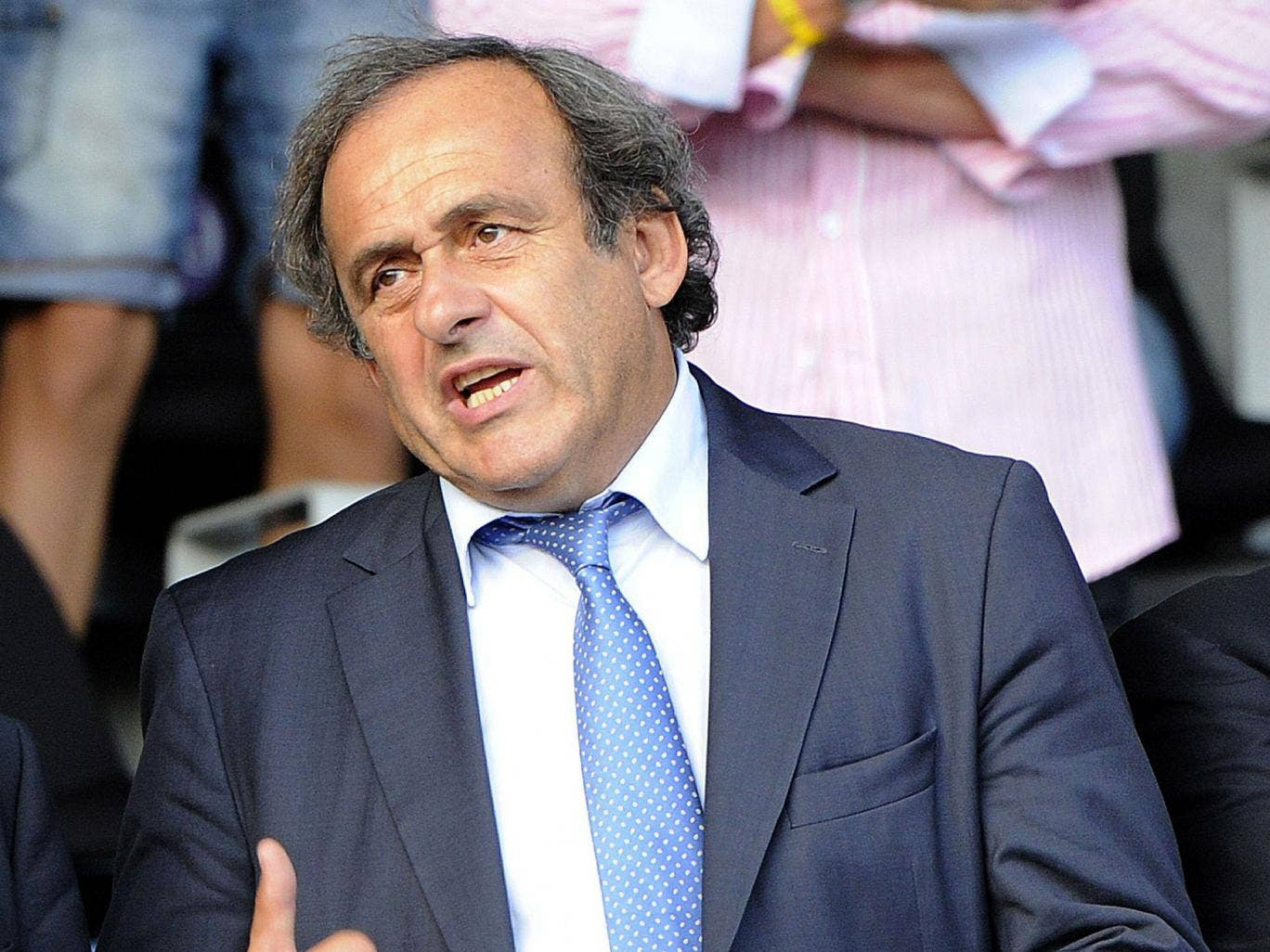 Michel Platini has long been a supporter of a Qatar World Cup