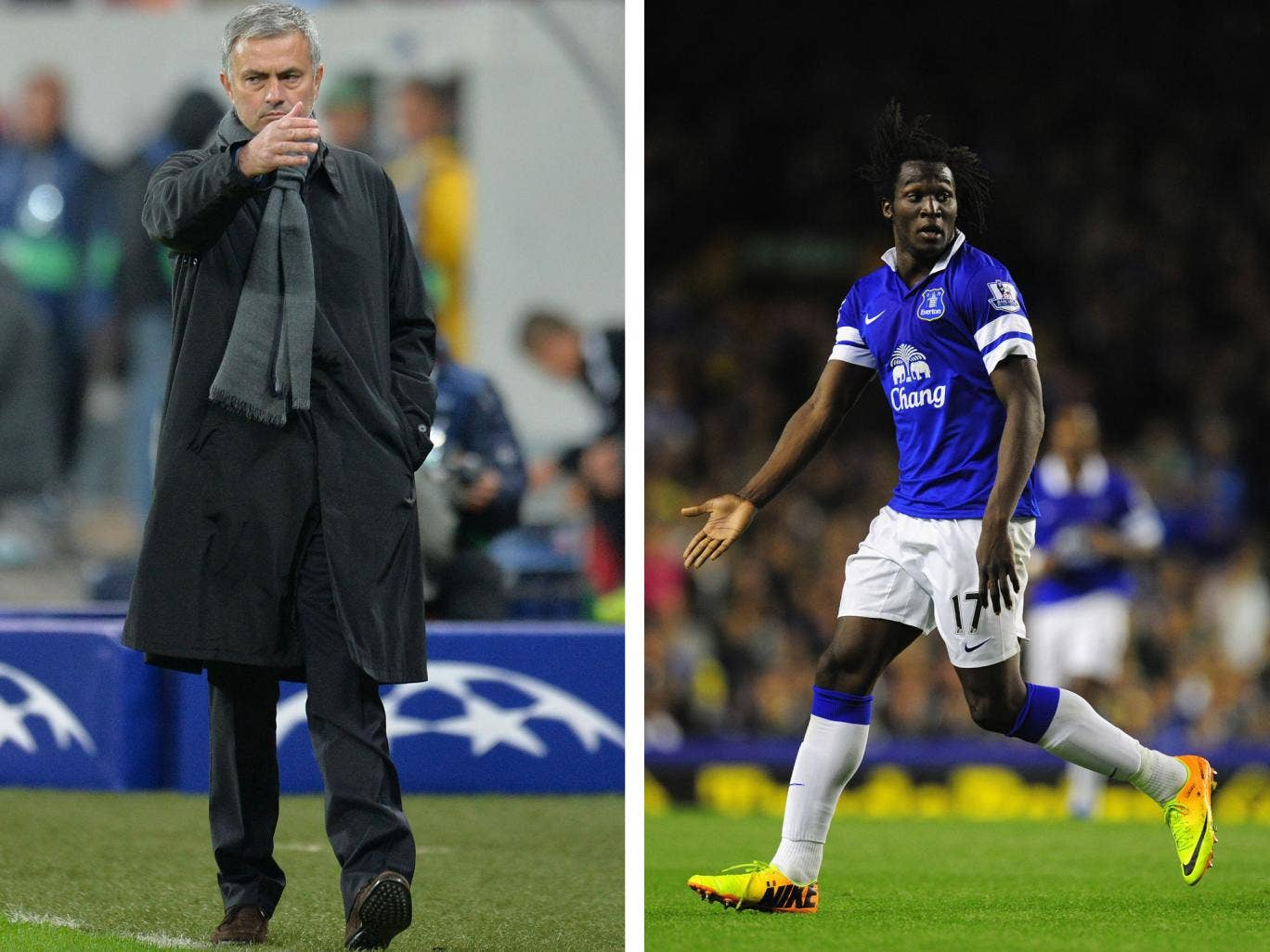 Jose Mourinho has claimed that it is one thing to play well for Everton, and it's another to play well for Chelsea, in response to Romelu Lukaku's loan to Everton