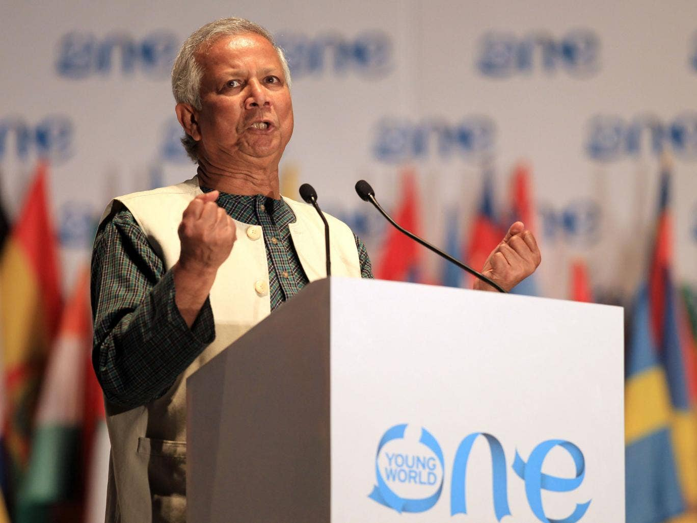 But Mr Yunus and the government have argued in recent years over the running of the bank
