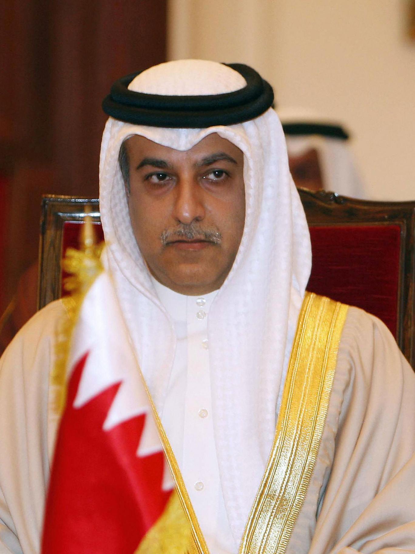 Bahraini Sheikh Salman bin Ibrahim al-Khalifa