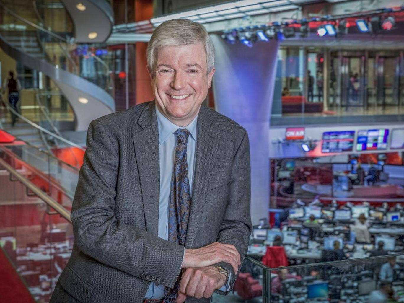 Centre stage: Tony Hall plans live broadcasts from the National Theatre