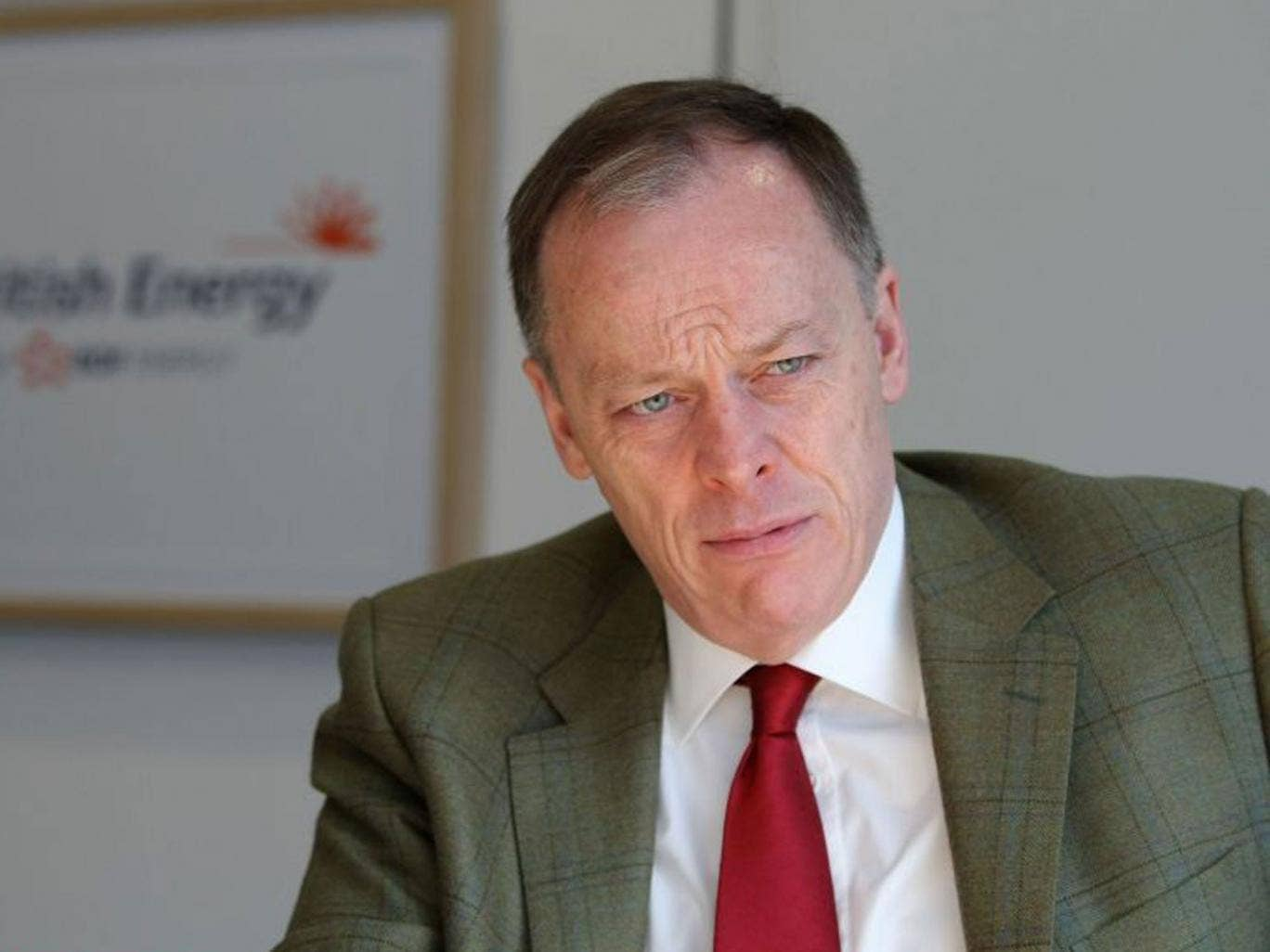 Vincent de Rivaz admitted that the energy industry faced a 'crisis of trust'