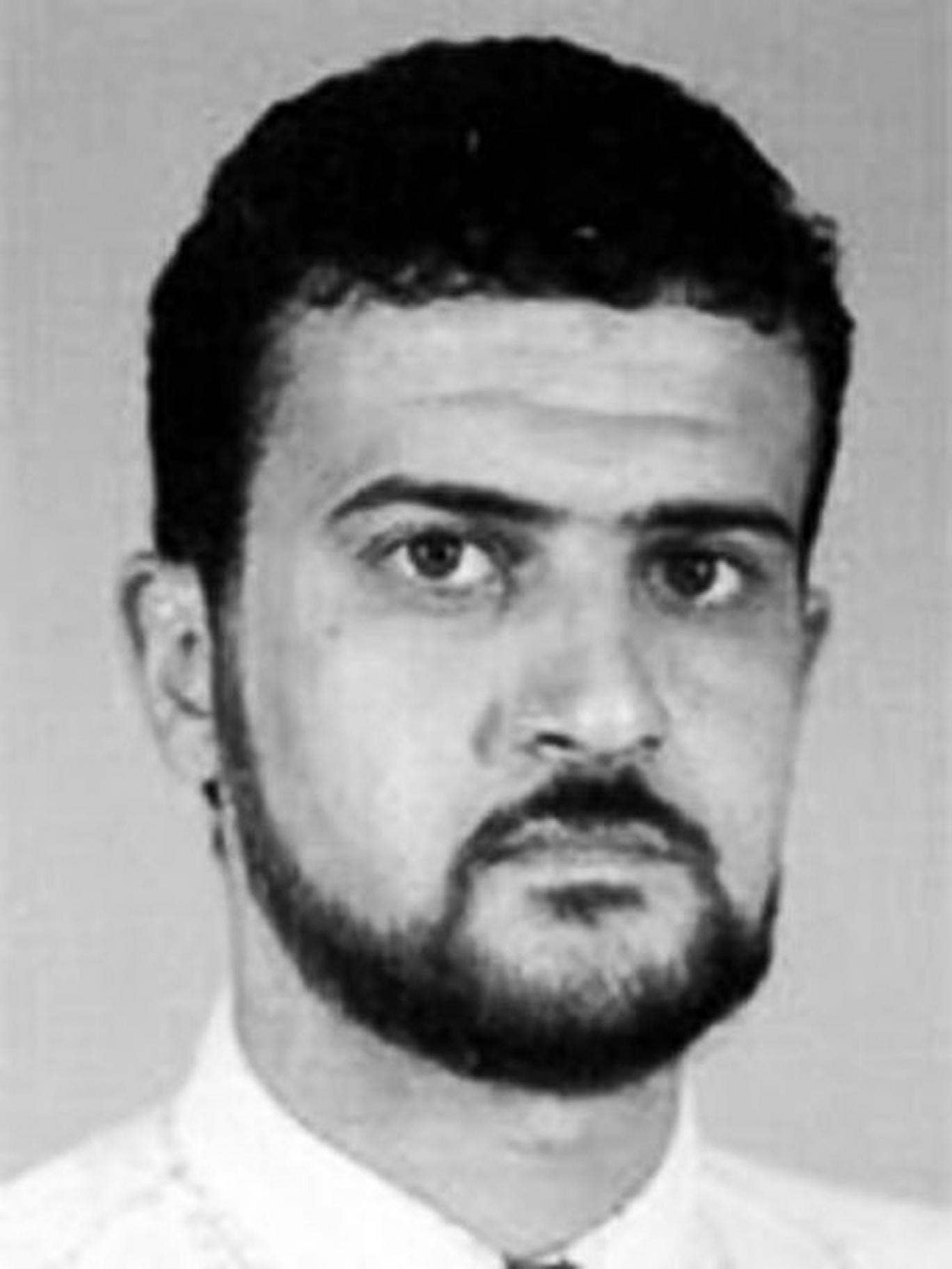 This image from the FBI website shows Anas al-Libi. Gunmen in a three-car convoy have seized the al-Qai'ida leader connected to the 1998 embassy bombings in eastern Africa