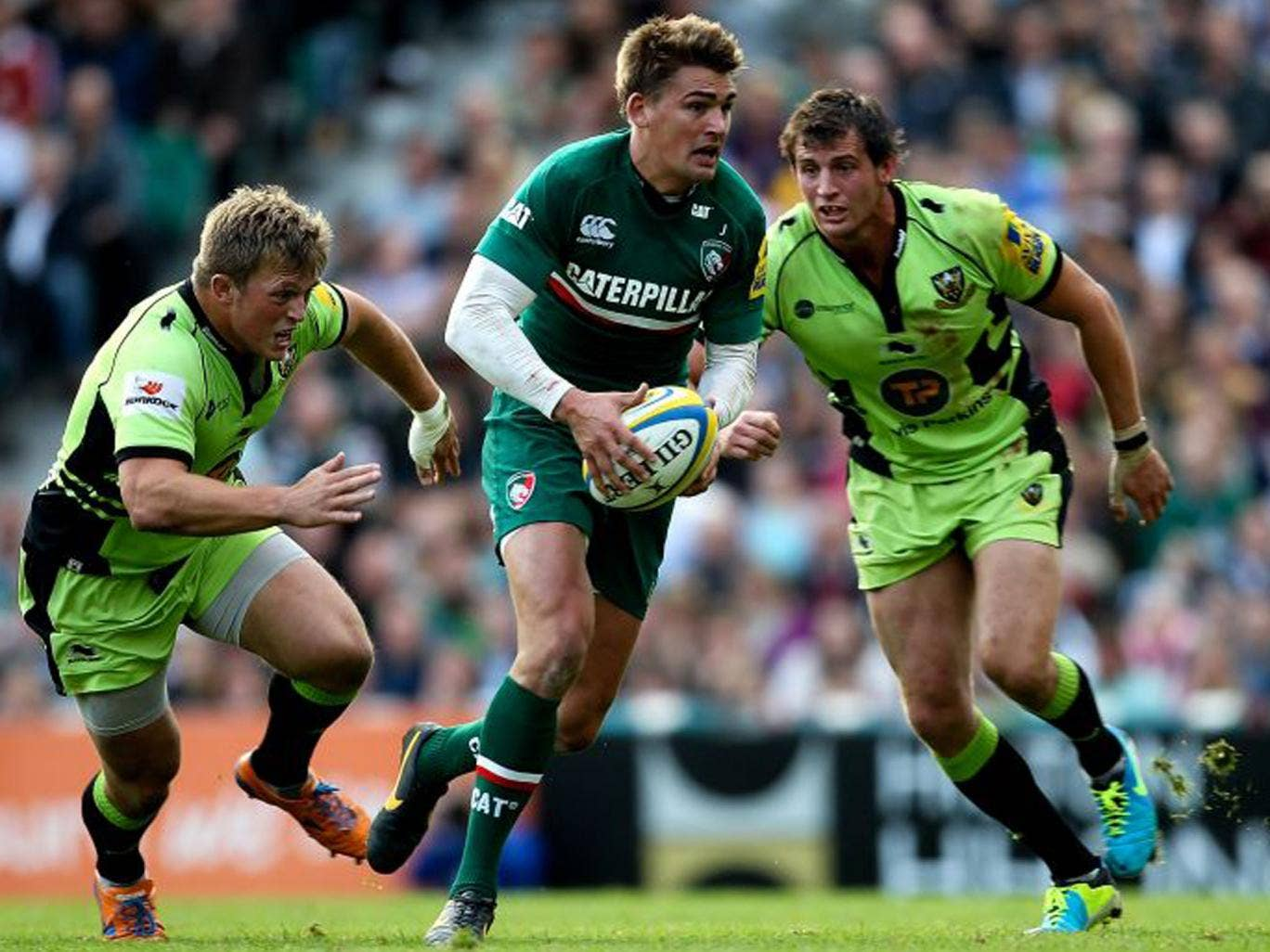 Toby Flood revived Leicester's fortunes in the last quarter
