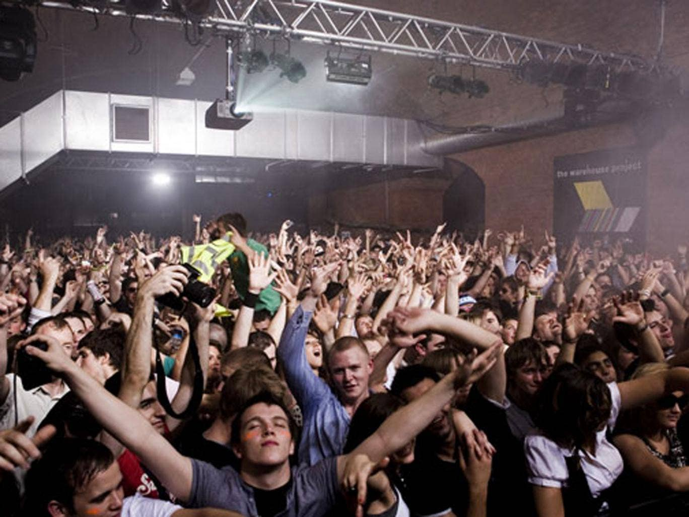 One person died and five other people were taken to hospital after a night at The Warehouse Project in Trafford, Manchester