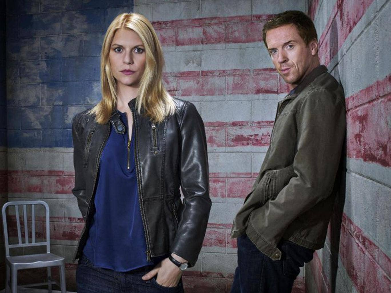 Claire Danes as Carrie Mathison and Damian Lewis as Nicholas Brody return for the third season of 'Homeland'