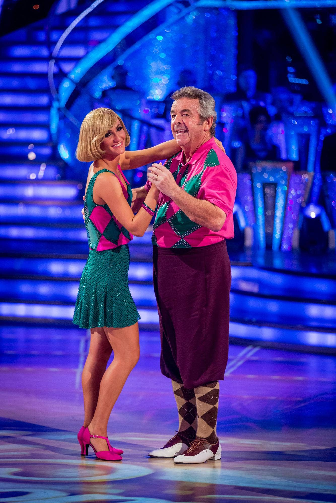 Tony Jacklin dances to be saved by the judges
