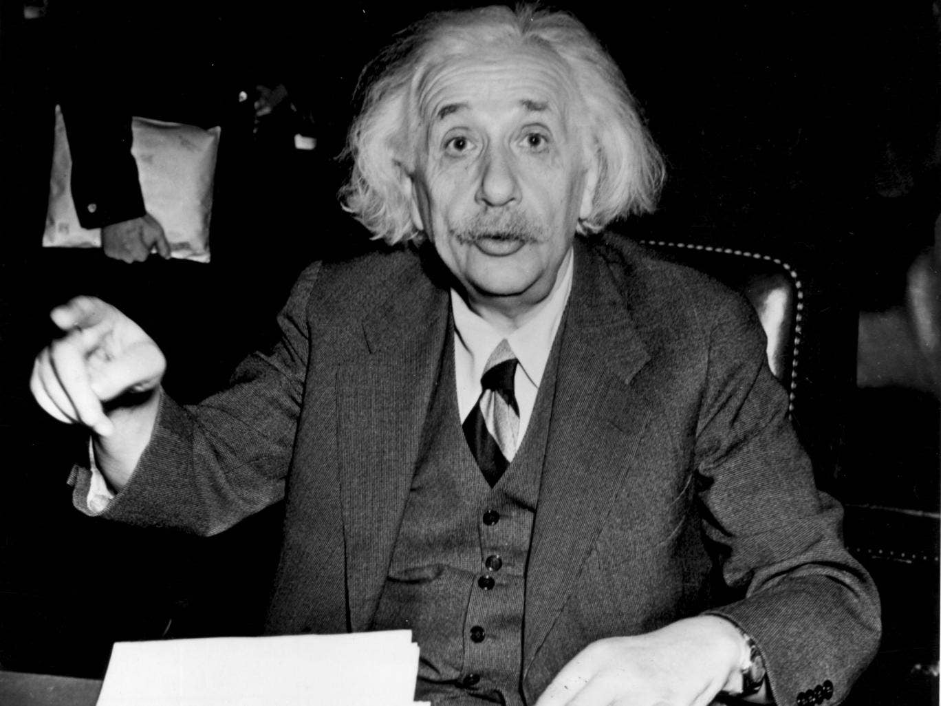 The left and right sides of Albert Einstein's brain were unusually well connected, a study has found. Could it have been the key to his genius?