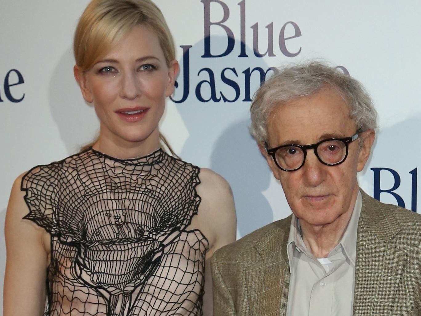 Cate Blanchett and Woody Allen