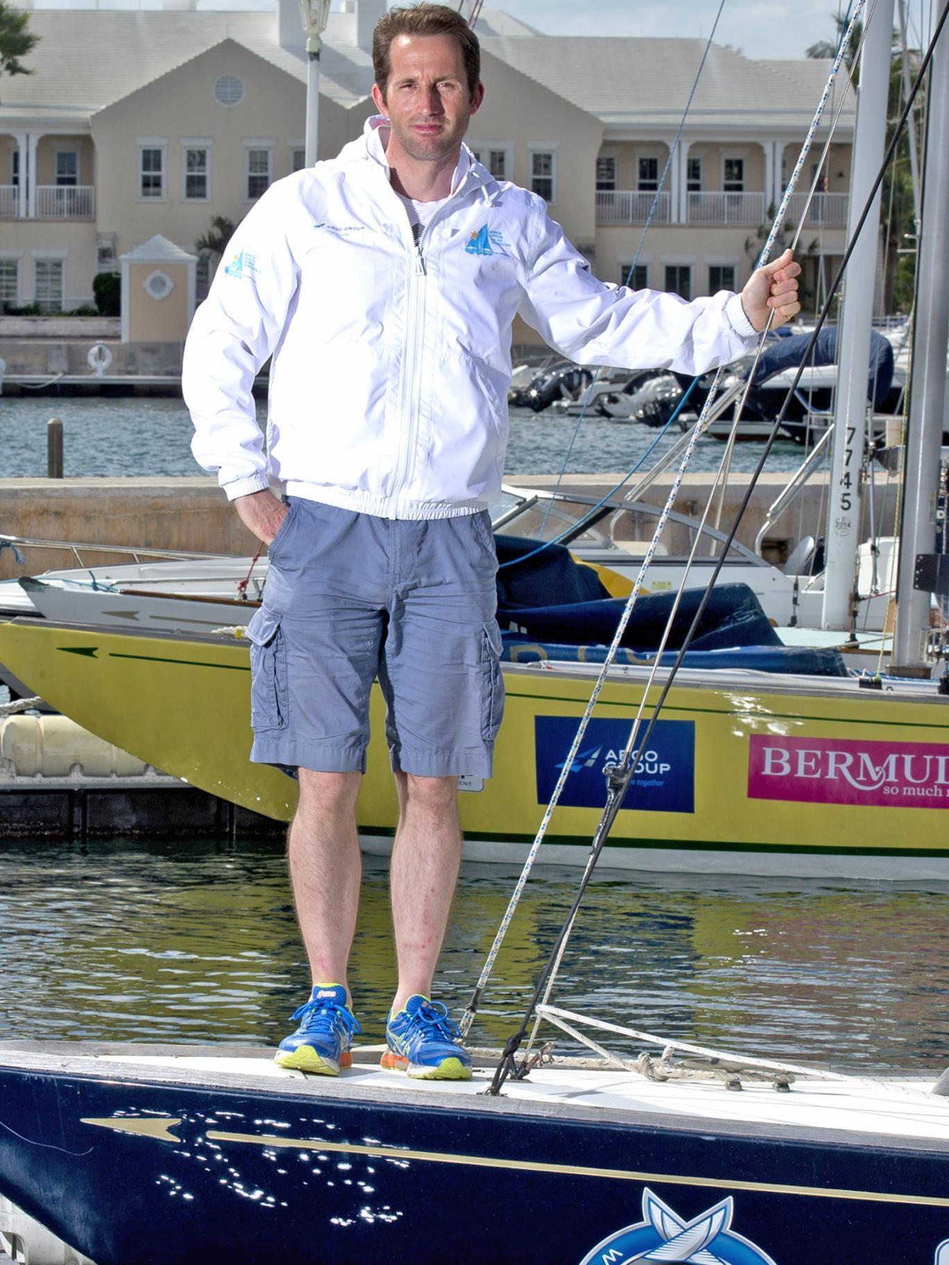 Sir Ben Ainslie is racing in Bermuda this week