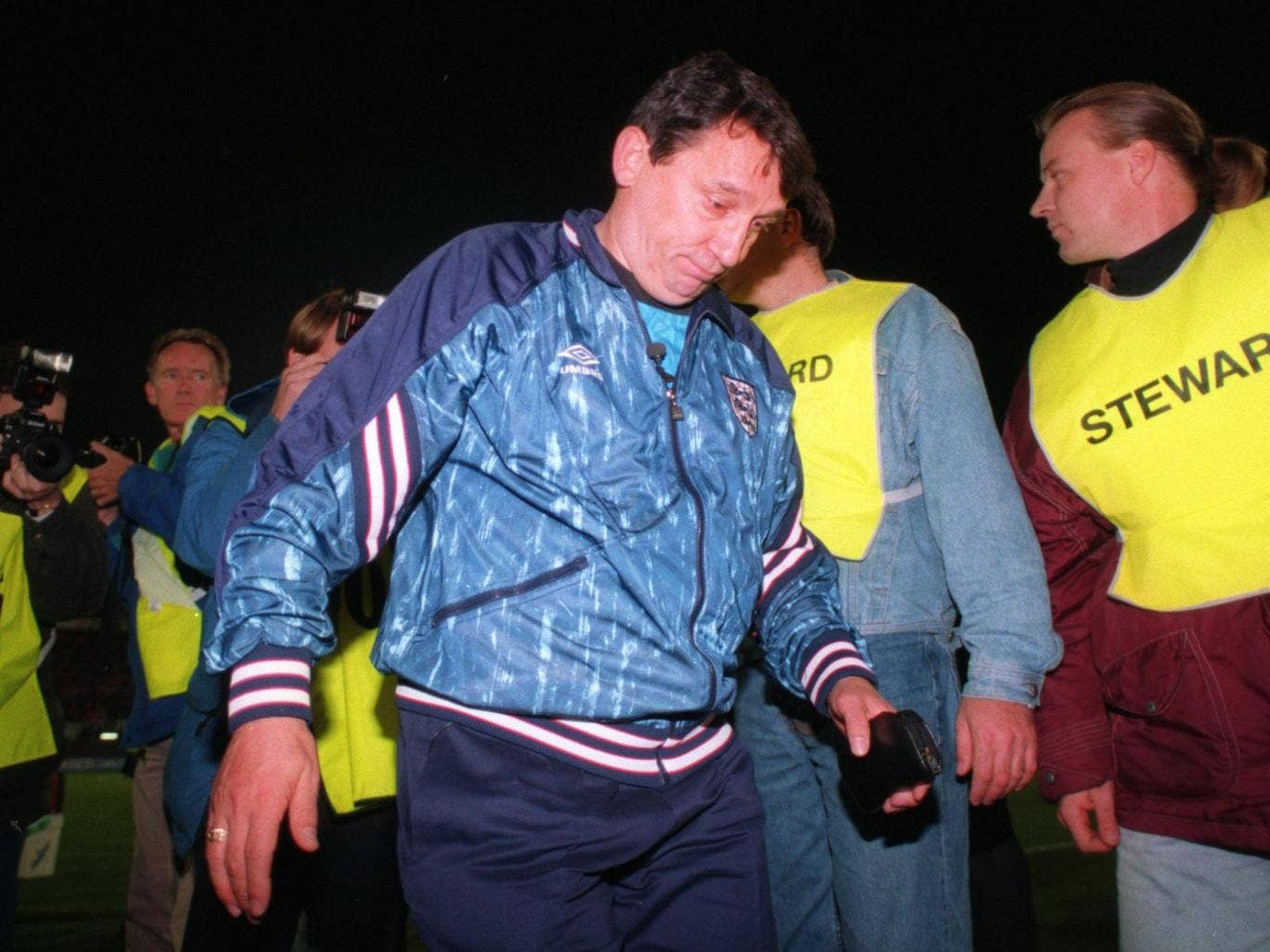 Graham Taylor pictured during his time as England manager