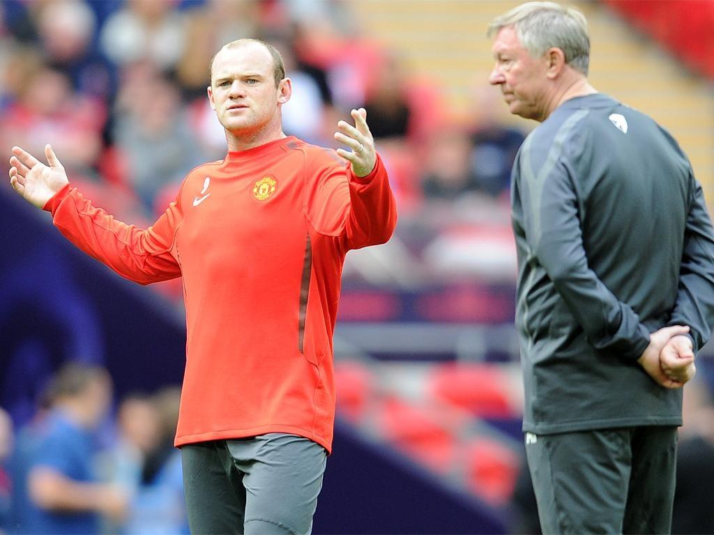 Wayne Rooney grew frustrated with Sir Alex Ferguson