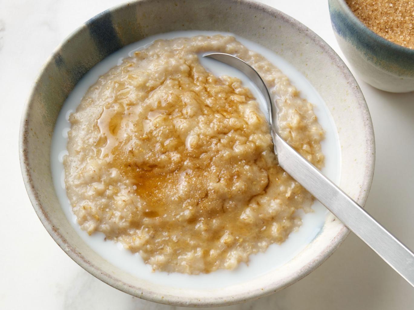 Morning glory: traditional porridge