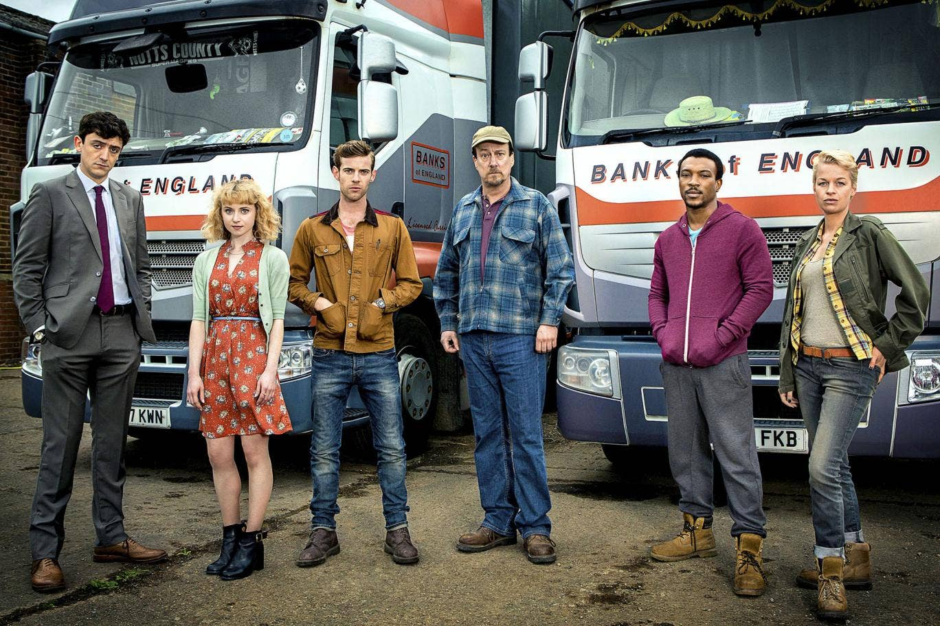Each of the hour-long episodes will focus on a key moment in the life of a haulage yard worker
