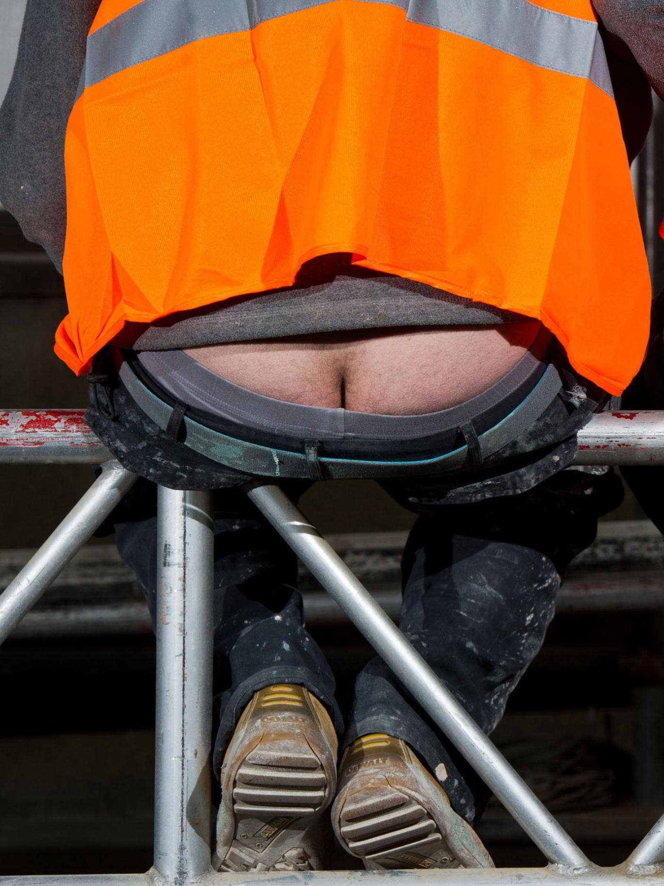 Public health minister Jane Ellison will be urging construction workers to 'get into shape'