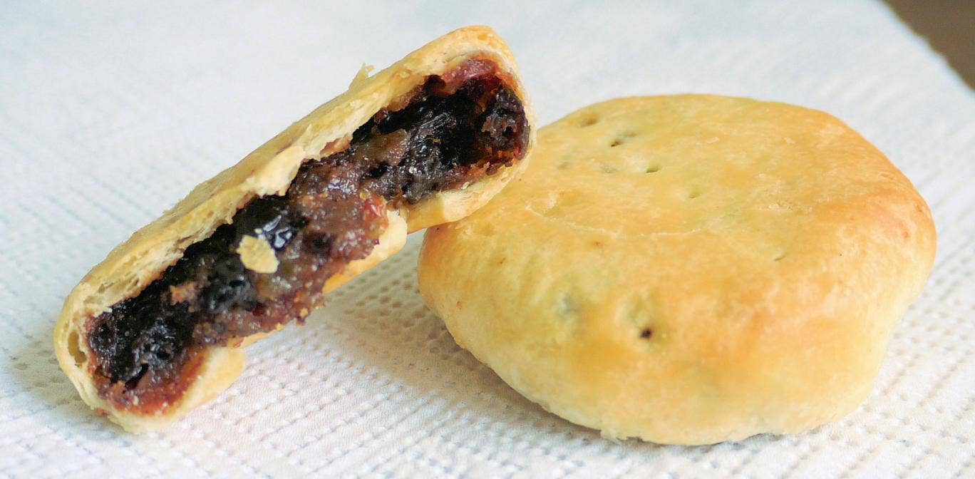 Eccles cakes - the British high street bakers Greggs has refused to stock the Manchester treat - even in its Eccles branch during Eccles week
