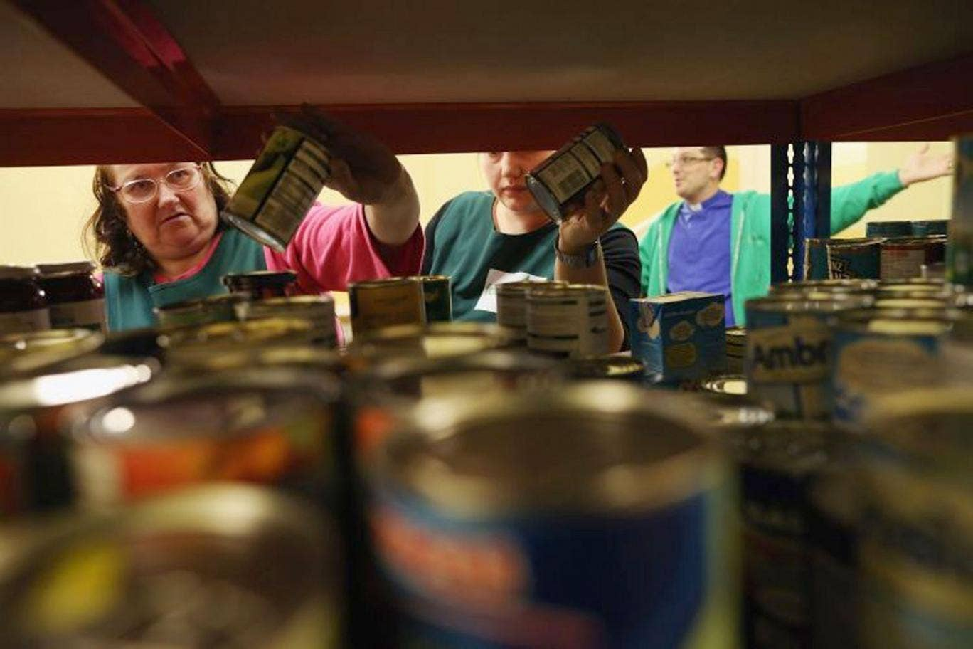 Two out of five food banks are facing cutbacks while three-quarters are predicting greater demand