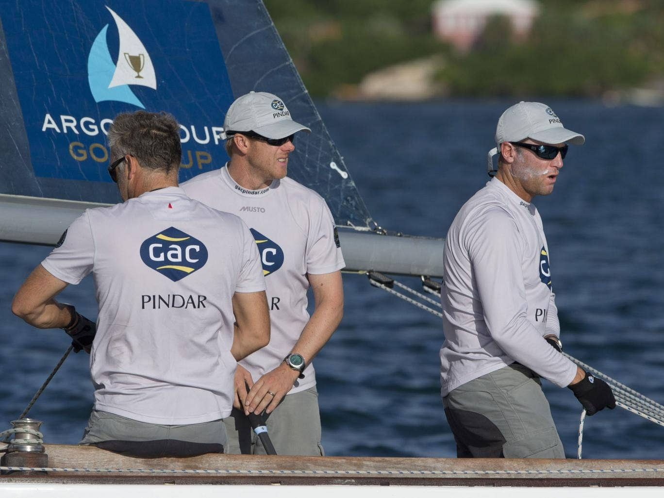 Spitting tacks, defending world match racing champion Ian Williams picked his own quarter final executioner when being knocked out of the Argo Group Gold Cup in Bermuda by his closest rival in the Alpari World Match Racing Tour, Taylor Canfield of the US