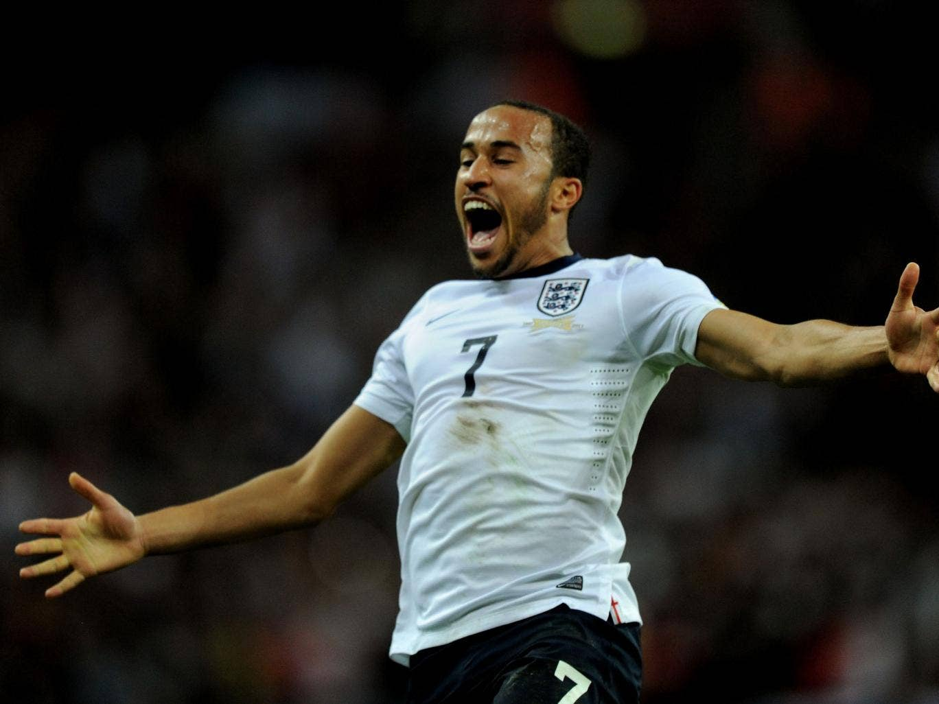 <p>Andros Townsend</p>  <p>Perfect evening. His run down the right made the first goal before his brilliant strike made the game safe. 9</p>