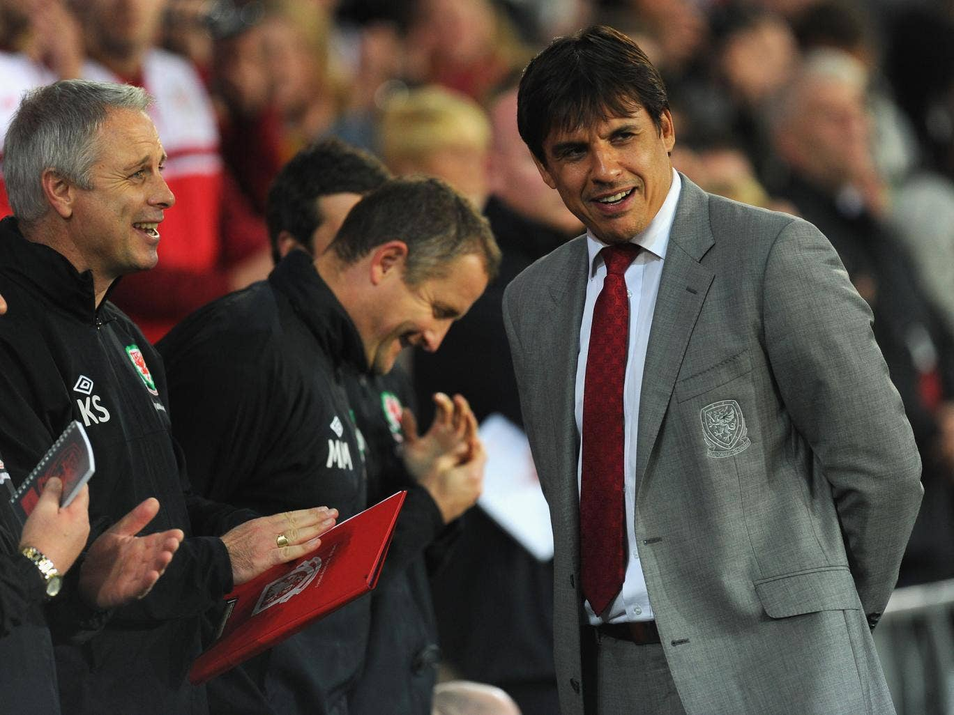 Chris Coleman admitted the victory over Macedonia was one of his most pleasing but insists it hasn't changed his future