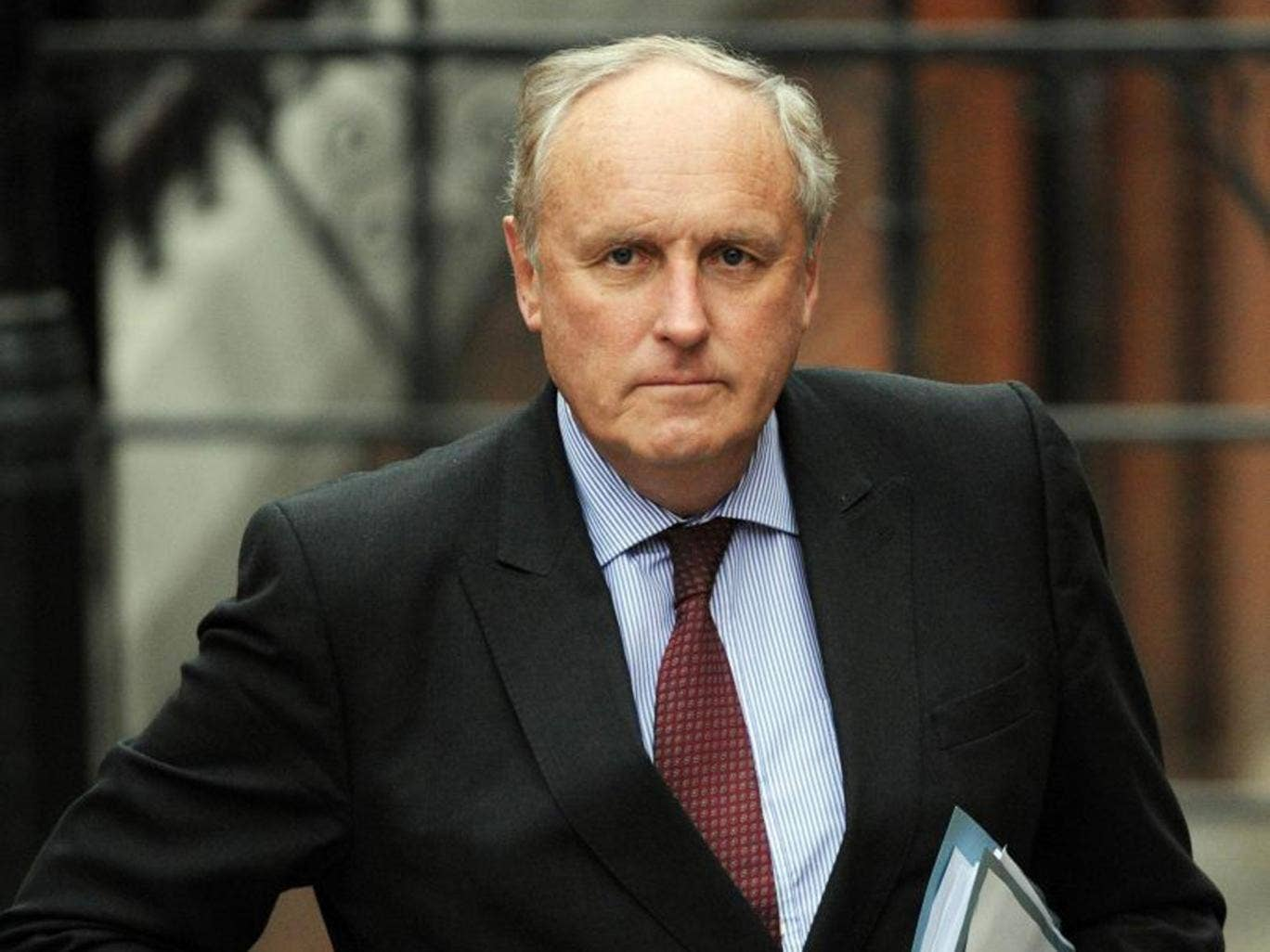 The Daily Mail editor-in-chief, Paul Dacre