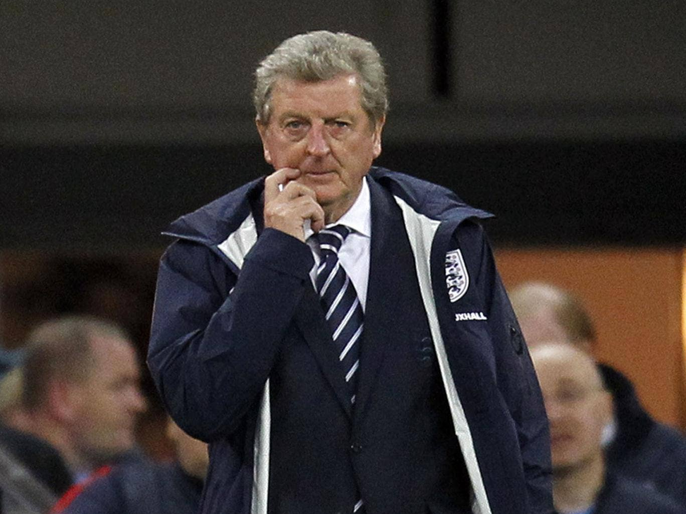 Roy Hodgson has received backing from Graham Taylor and Graeme Le Saux