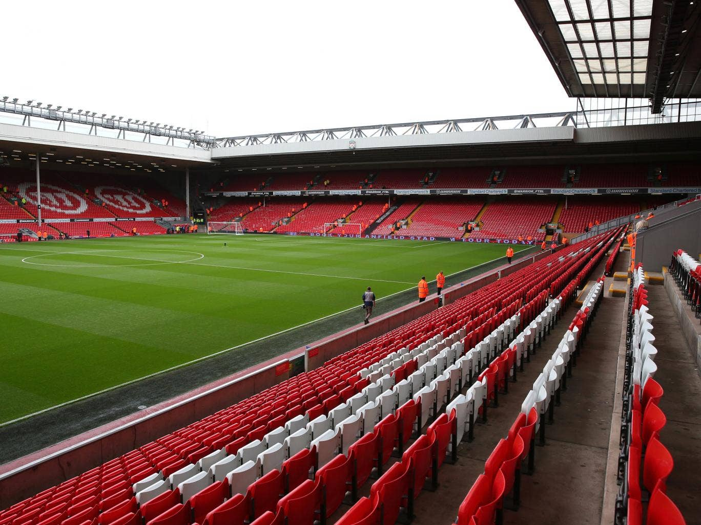 Anfield currently has a capacity of 45,522