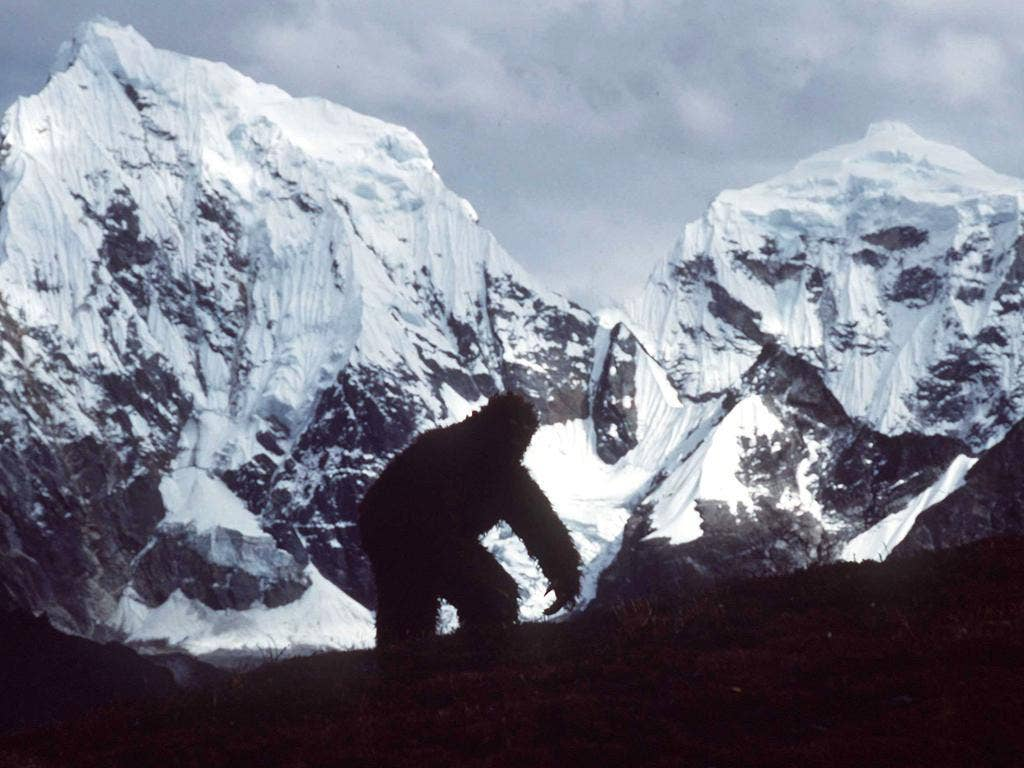 'Bigfoot' has been the subject of many hoaxes, such as this April Fool's joke at Mount Everest in 1992