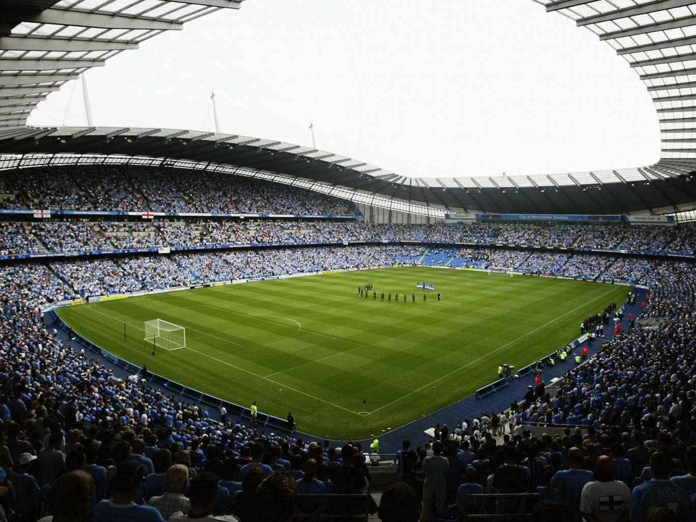 Manchester City want to  increase the capacity of the Etihad Stadium to 61,000
