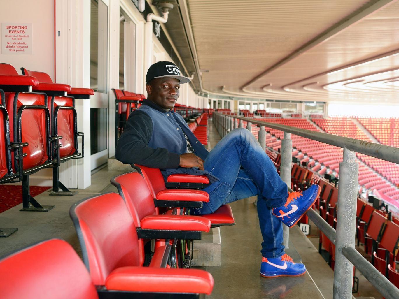 Victor Wanyama, at St Mary's, Southampton F.C