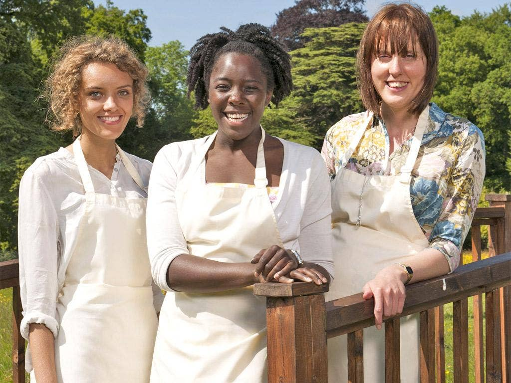 The finalists (left to right): Ruby, Kimberley and Frances
