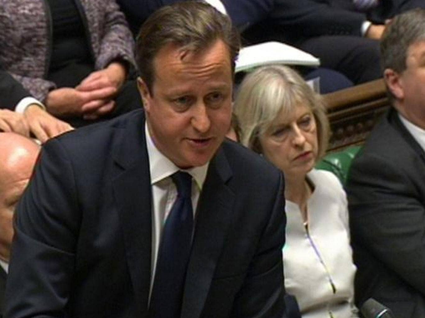 David Cameron has promised a 'proper competition test'