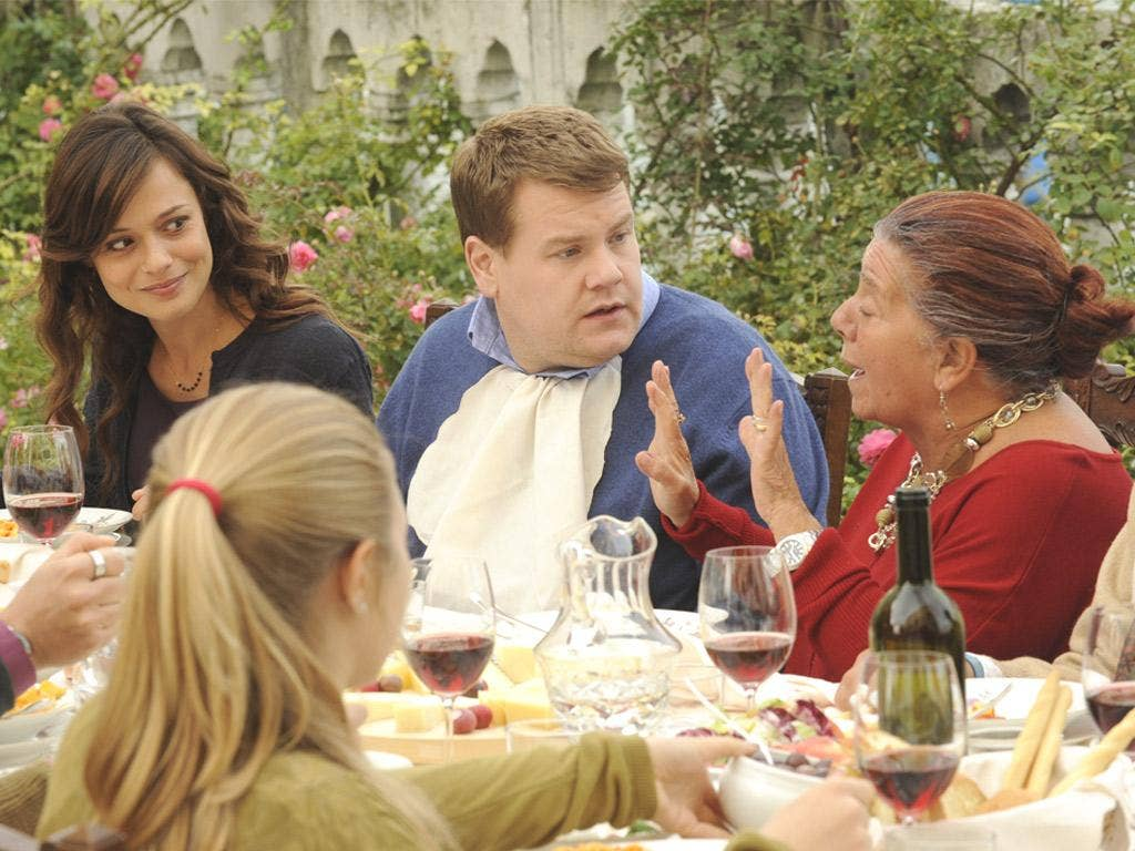 Glass act: James Corden as Paul Potts in the affecting biopic 'One Chance'