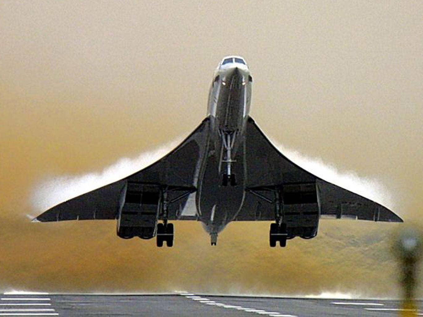 Gone west: Concorde stopped flying in 2003