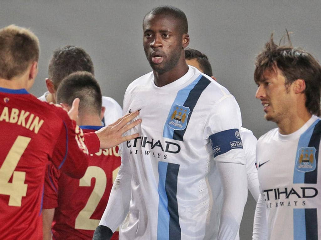 Yaya Toure was subjected to racial abuse in Moscow