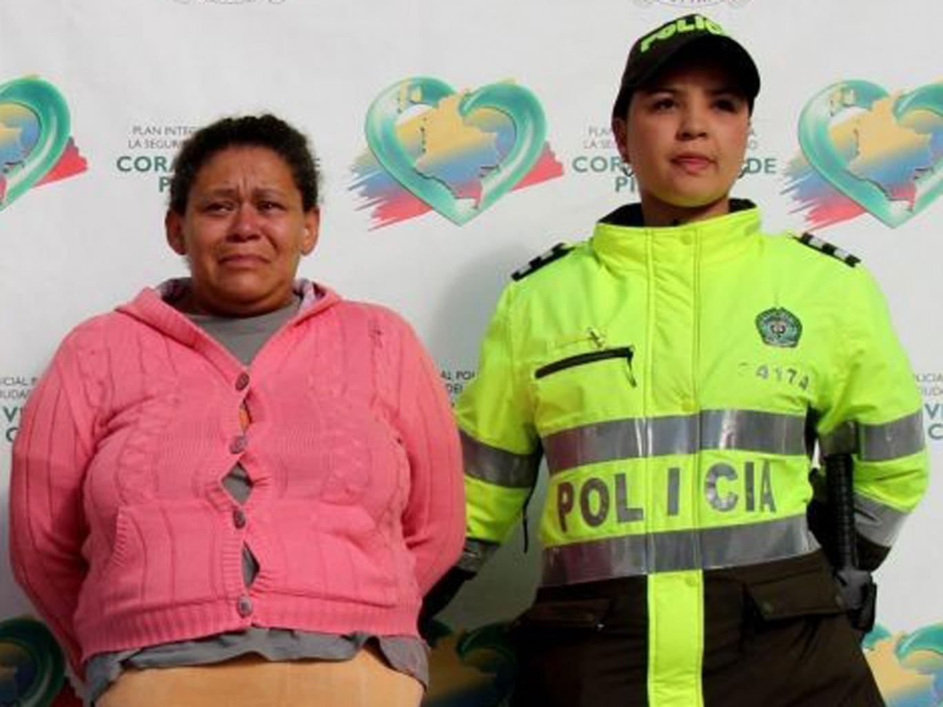 Margarita de Jesus Zapata Moreno, 45, has been arrested in Bogota for selling the virginities of 12 of her young daughters
