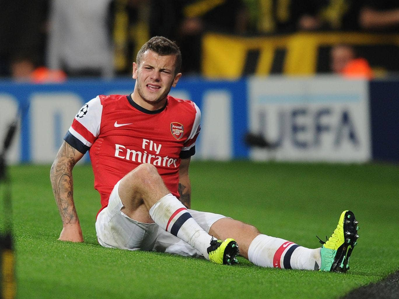 Jack Wilshere will be monitored by Arsene Wenger ahead of Arsenal's trip to Crystal Palace