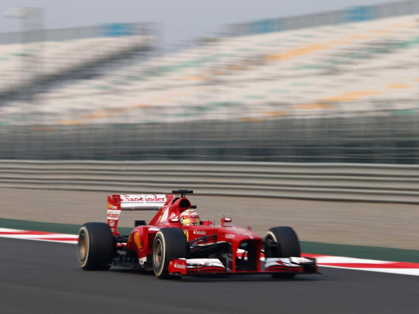 Fernando Alonso could only qualify down in eighth for tomorrow's Indian Grand Prix