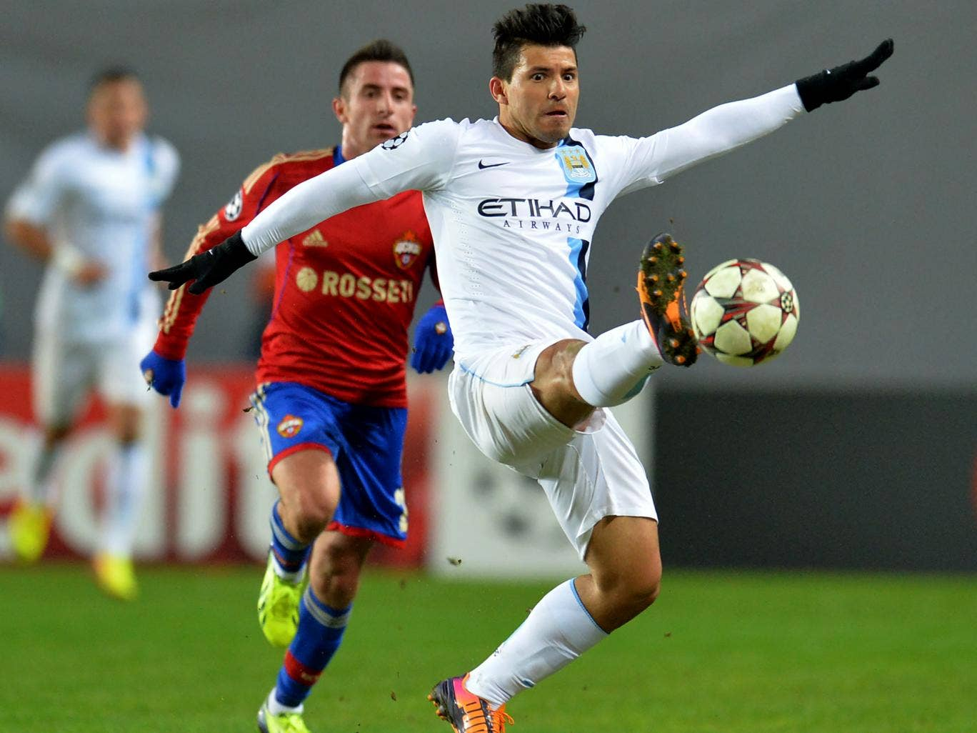Sergio Aguero has proven to be Manchester City;s lucky charm as they have never lost when he has scored