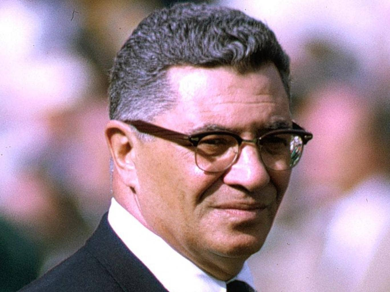 Leading edge: Vince Lombardi's management strategies are studied like scripture – the presence of Ferguson among the disciples is revealing