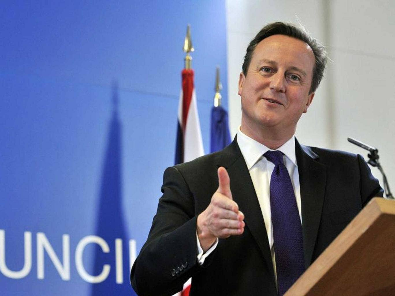 The improving economy may win David Cameron and the Conservatives the next election