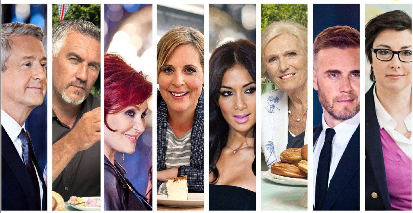 The judges on The British Bake Off are renowned for their soft touch, making a distinct comparison between some of the judges on shows such as X-Factor