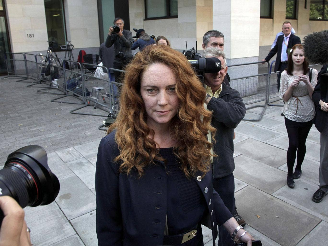 The former 'News of the World' editor Rebekah Brooks