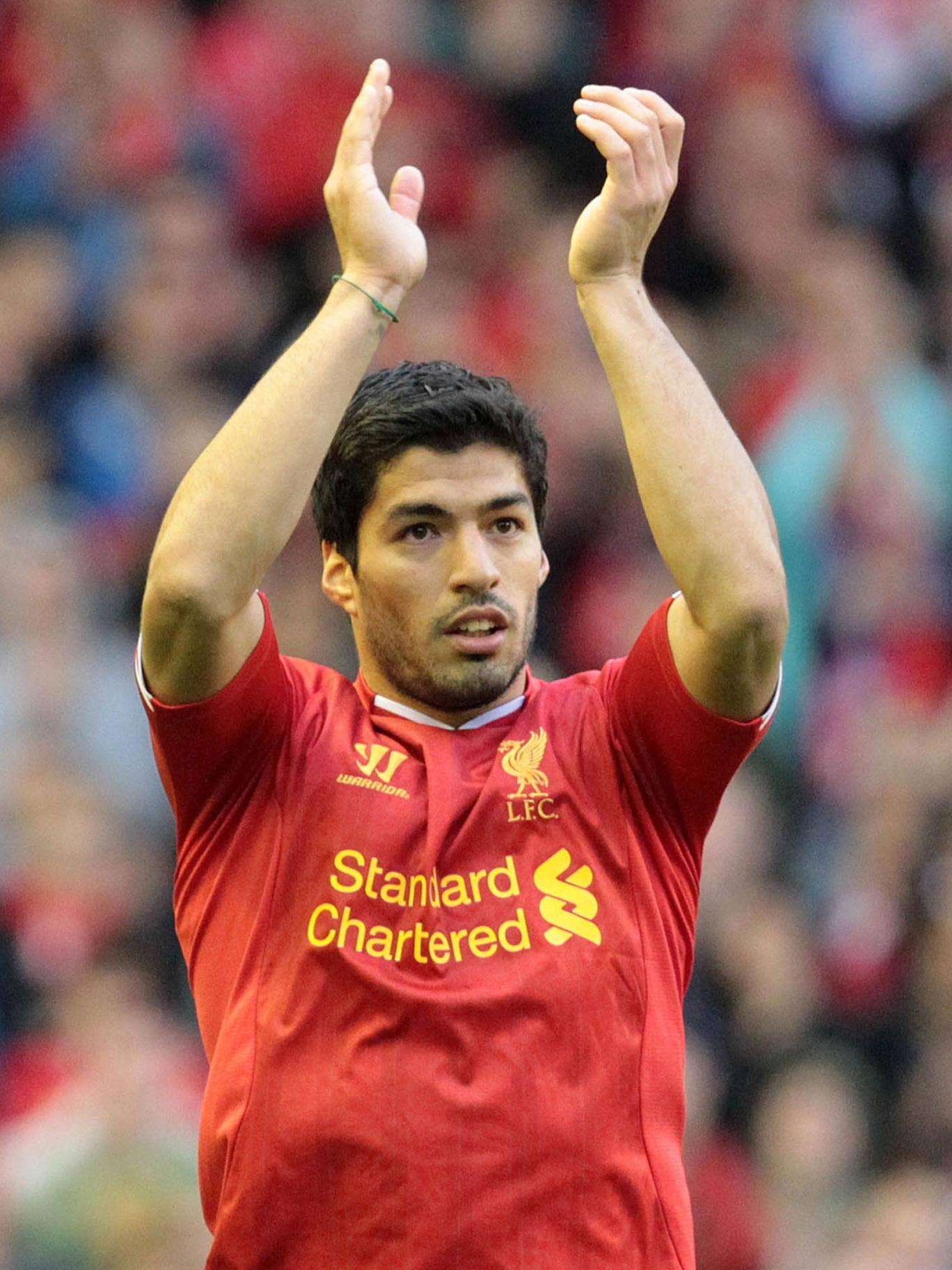 Luis Suarez has put a difficult summer well behind him
