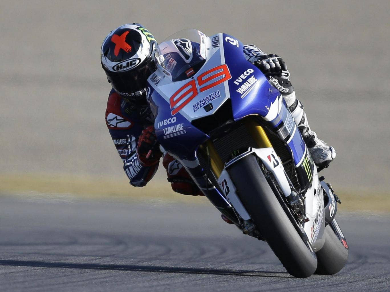 Jorge Lorenzo led from start to finish in the Japan Grand Prix