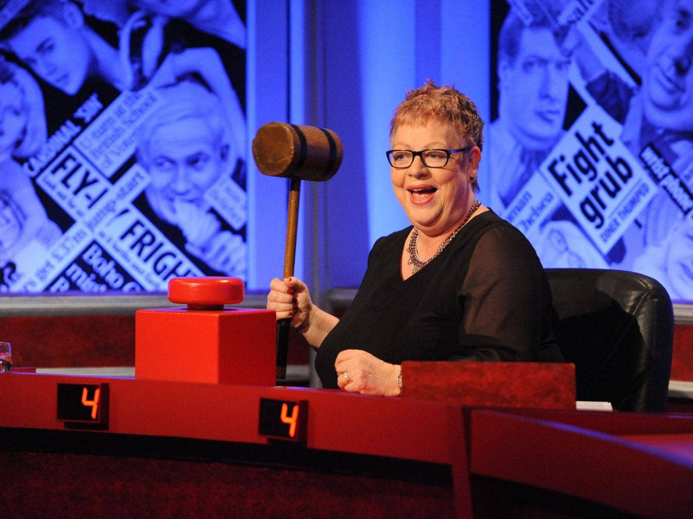 Comedian Jo Brand on Have I Got News For You